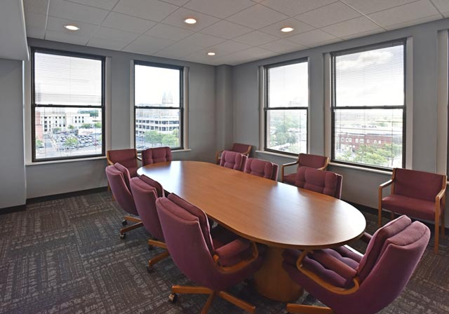 Downtown High Rise Akron Office Space For Lease